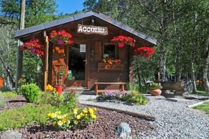 Camping Meije 's entrance